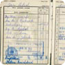 Jan Palach's student record book from the University of Economics (Source: Charles University Archives)